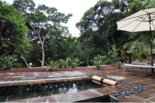 ホテル四季の蔵の貸切露天風呂