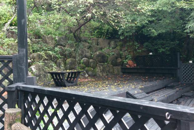 ホテル四季の蔵の森のドッグラン