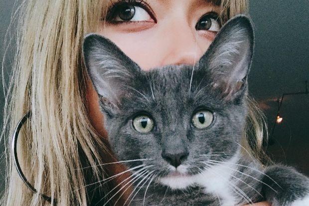 ローラと猫のウニ